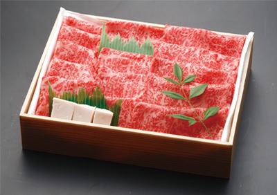 飯村牛A5ランク すき焼き用 薄切りロース